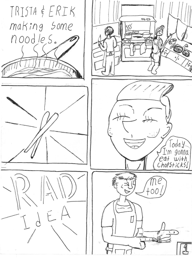 noodles and chopstick page 1
