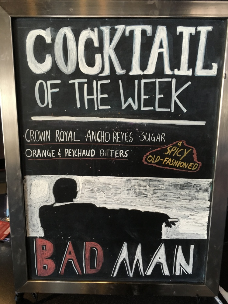 bad man cocktail