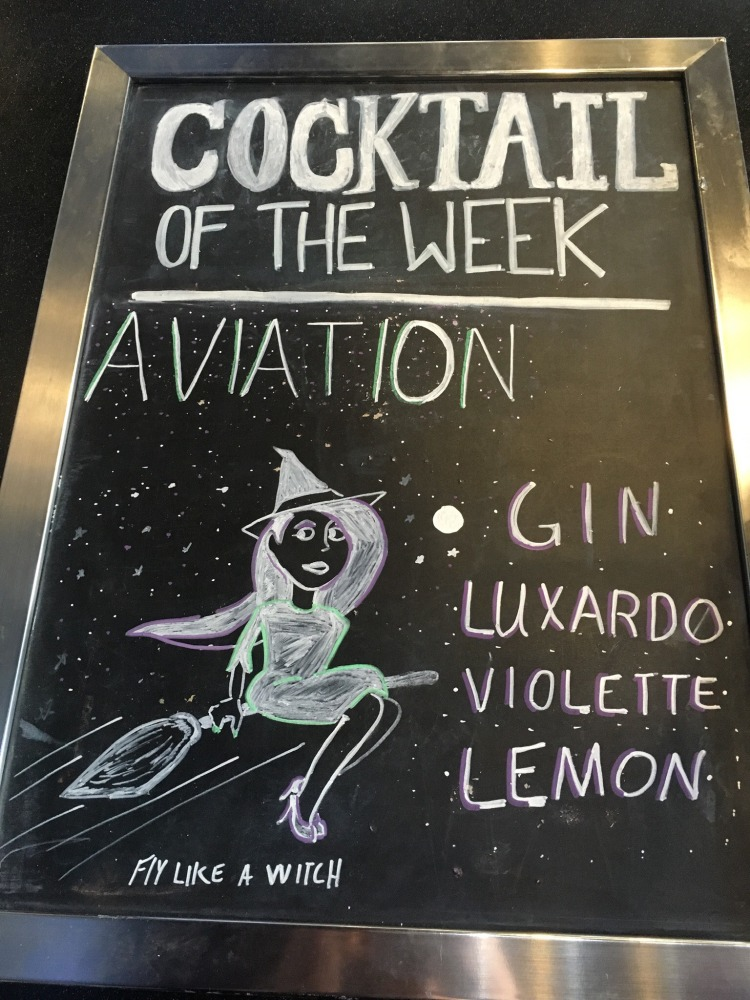aviation cocktail witch