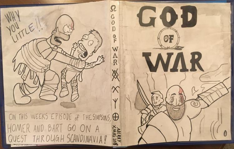 GoW custom cover xmas 2018